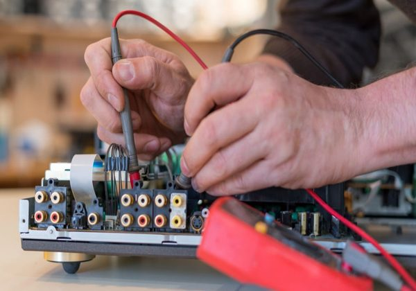 Repair and fault diagnosis of audio and video equipment